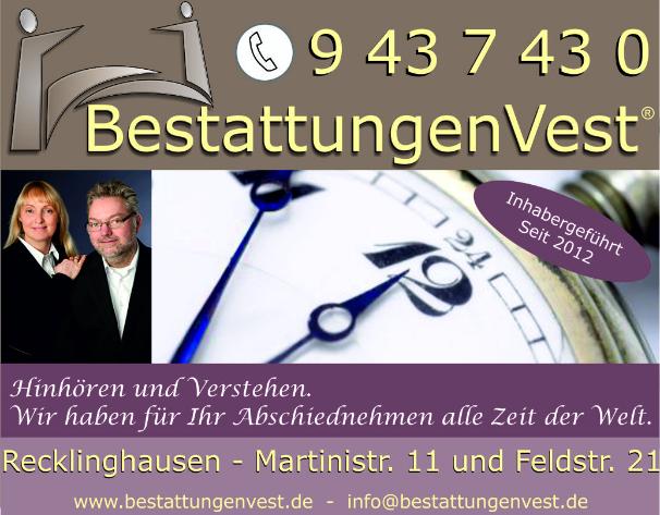 BestattungenVest, Ihr Partner im Trauerfall in Recklinghausen