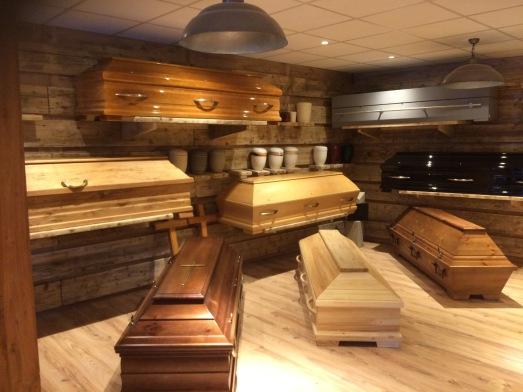 Ausstellung BestattungenVest, Martinistr.11